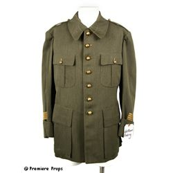 The Bowery Wallace Beery Army Jacket