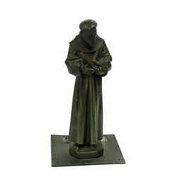 The Exorcist Priest Statue Prop