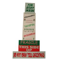 How The Grinch Stole Christmas Mailroom Stickers Props