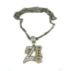 8 Mile Bling Necklace