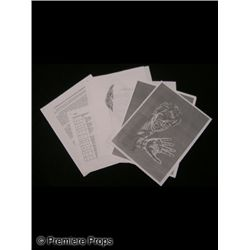 X-Men Character Sketches & Documents