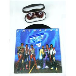Michael Jackson Victory Tour Sunglasses/ LP