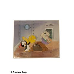 Chilly Willy Cell Signed Walter Lantz