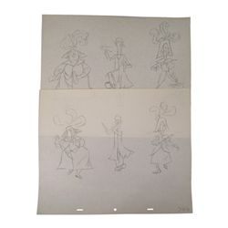 Disney Mary Poppins Pearl Band Animation Drawings
