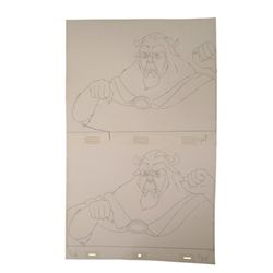 Disney's Beauty And The Beast Original Production Drawings