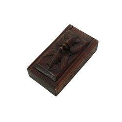 Hawaii Five-O (1968) Wooden Tiki God Box Prop