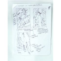 Harry Potter Original Storyboard