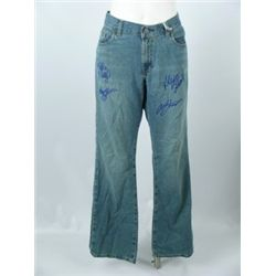 Sisterhood Of The Traveling Pants Signed Pants