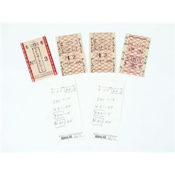 Seabiscuit Race Tickets Props