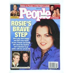 Rosie O'Donnell Signed Magazine