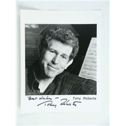 Tony Roberts Signed Photo