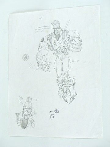 Small Soldiers Production Drawings - 17.8KB