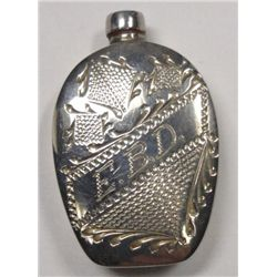 Vintage Sterling Silver Perfume Bottle. Engraved E.B.D. from Gran  Hotel