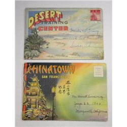 Circa 1940's California Tourist Souvenir Booklets Chinatown San Francisco