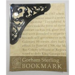 Gorham Sterling Bookmark #71  .175 ozt