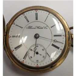 Illinois Watch Co, Springfield, Il Circa 1902, 18 size 15 jewel, lever set ,