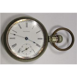 Waltham Open Face Pocket Watch A,W.W. Co., Circa 1903 16 size, 7 jewel Grade 610