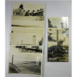 Circa 1940's Vacation Post Cards features San Francisco ( 9 cards)
