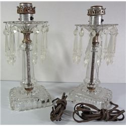 "Beautiful ""Gone with the Wind"" Style Lamp. 18"" tall, Dutch Scene, Electric"