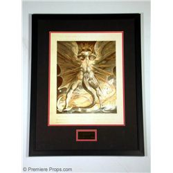 """RED DRAGON"" Framed Edible Red Dragon Print Prop"