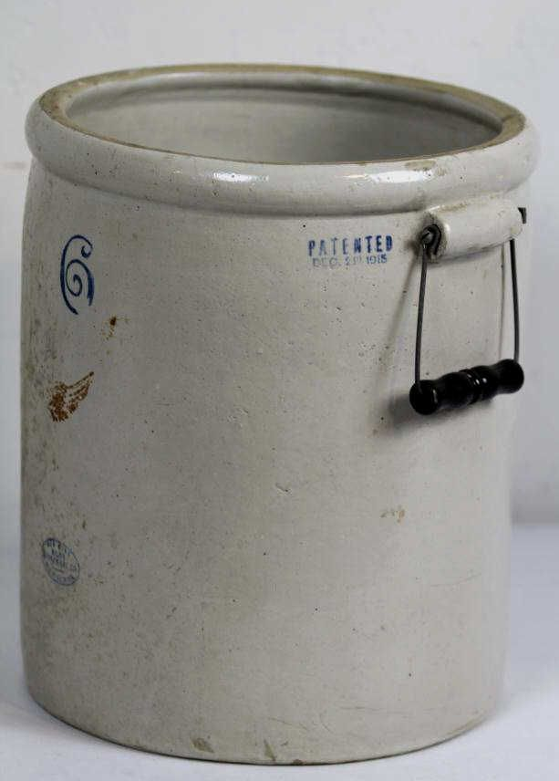 6 Red Wing Union Stoneware Crock