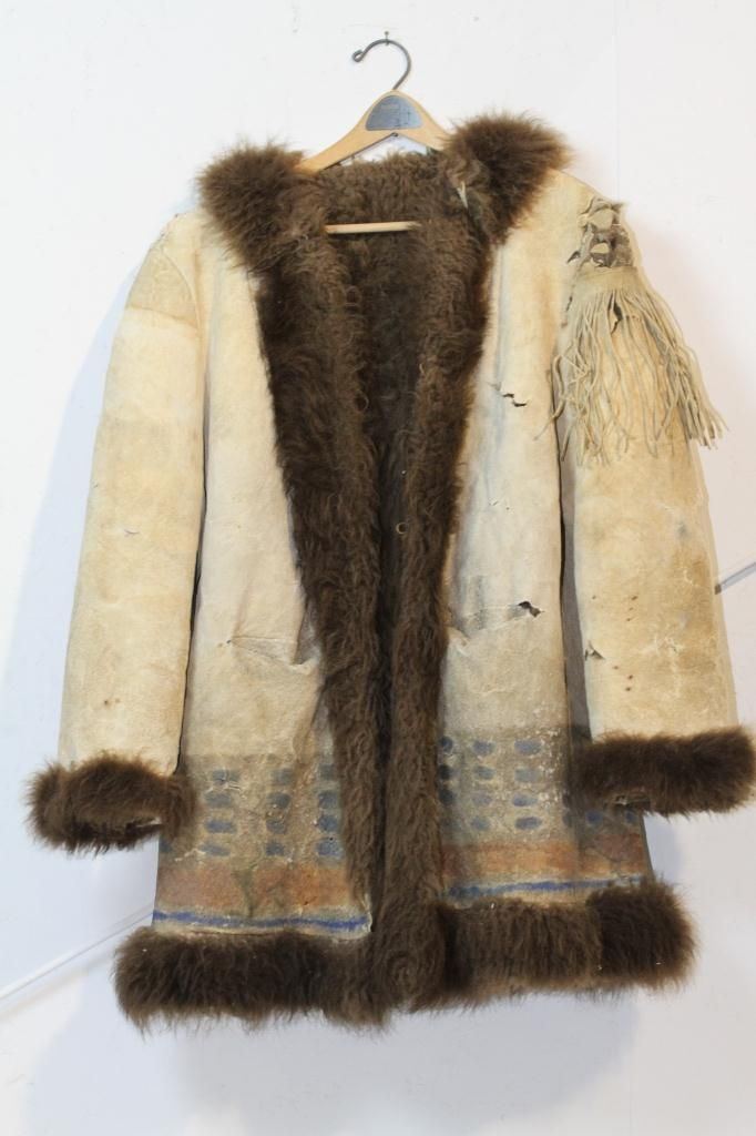 Ghost Dance Buffalo Coat Circa 1880 1890 S