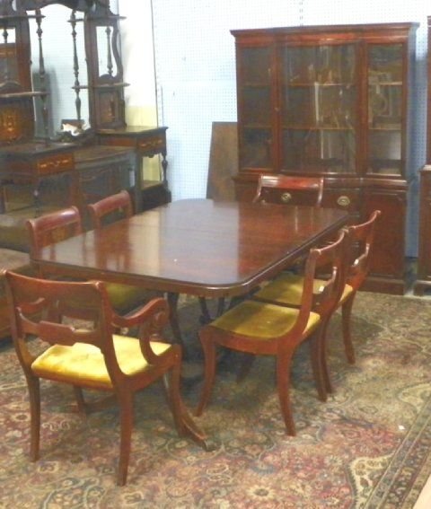 Drexel Mahogany Dining Room Set Ca