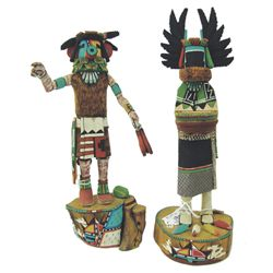 2 Hopi Kachina Carvings - Alton Pashano