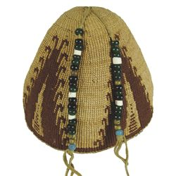 Nez Perce Basketry Hat