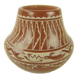 Santa Clara Pottery Jar - Dolores Curran