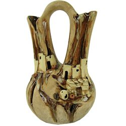 Pottery Wedding Vase - Janet Haefner