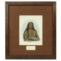 George Catlin Etching