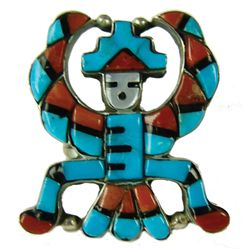Zuni Inlay Ring - Patsy Spencer
