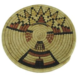 Hopi Basket - Betty Nafavasa