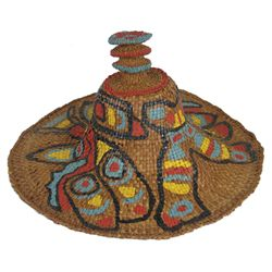 Haida Basketry Hat - Lydia Charles