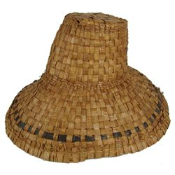Haida Basketry Hat