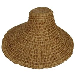 NW Coast Basketry Hat
