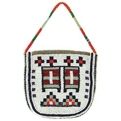 Plateau Beaded Bag