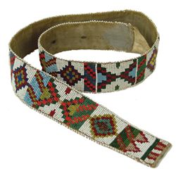 Cree Beaded Belt