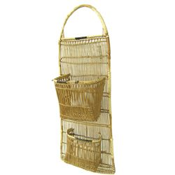 Hupa Basketry Wall Pocket