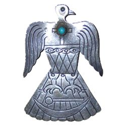 Kiowa Eagle Pin