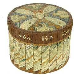 Micmac Quilled Basket