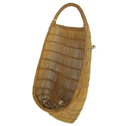 Hupa Basketry Cradle