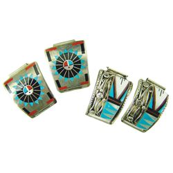 2 Zuni Inlay Watch Tips