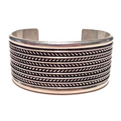 Sterling Bracelet - Tom Hawk