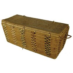 Salish Basketry Trunk