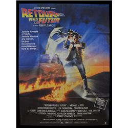 Back To The Future - Original 1985 French Release Poster