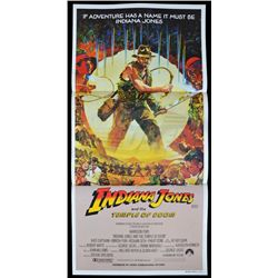 Indiana Jones and the Temple of Doom - Original Australian Daybill Poster