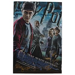 Harry Potter and the Half-Blood Prince - Cast Signed Movie Poster