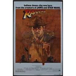 Raiders of the Lost Ark - Original Release One-Sheet Poster